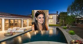 Check out Mila Kunis' Hollywood Hills home