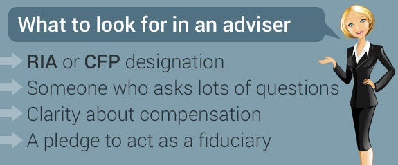 What to look for in an adviser © Neda Sadreddi/Shutterstock.com