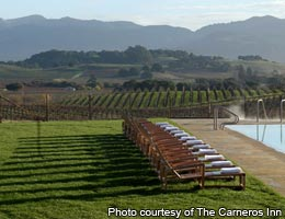 Wine country indulgence