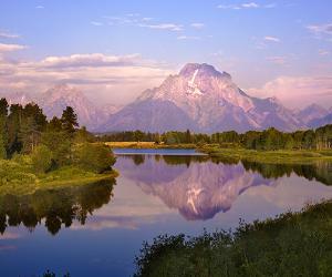 Mount Moran in Grand Tetons National Park, Wyoming | iStock.com