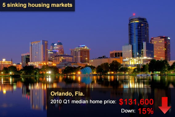 5 sinking housing markets