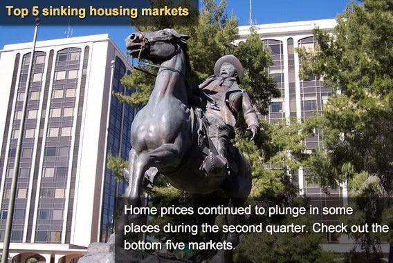 5 sinking housing markets