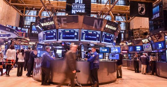 New York Stock Exchange floor | Andrew Theodorakis/Getty Images