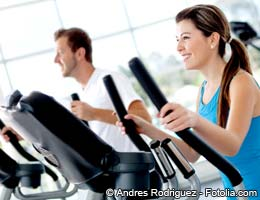 Health club workouts and spa getaways