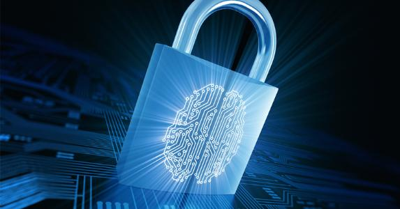 Padlock with fingerprint identification © iStock