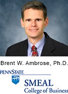 Brent W. Ambrose, Ph.D., The Pennsylvania State University