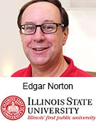 Edgar Norton, Professor of Finance, Illinois State University