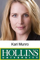 Kari Munro, Hollins University, Dept. of Economics and Business