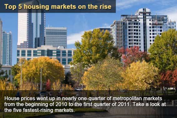 Top 5 best housing markets