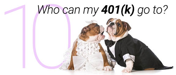 Who can 401(k) go to?