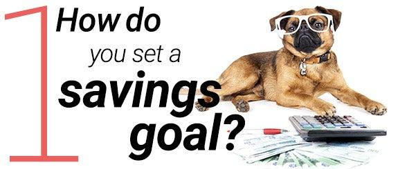 How do you set a savings goal? | Money © peshkov / Fotolia