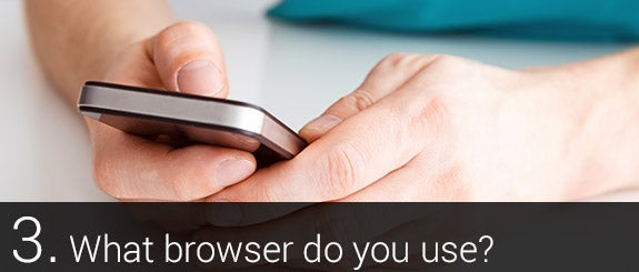 What browser do you use? © Sedlacek Shutterstock.com