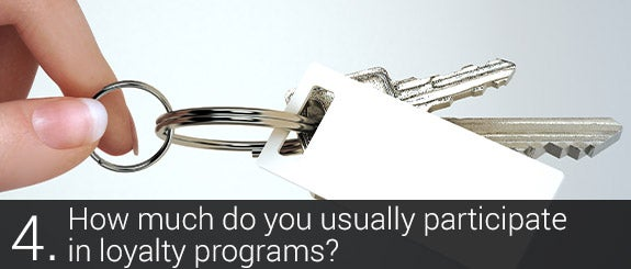 How much do you usually participate in loyalty programs? © Digital Storm Shutterstock.com