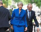 United Kingdom's Prime Minister Theresa May | JUSTIN TALLIS/Getty Images