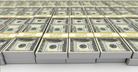 Stacks of money © iStock