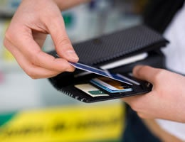 Use credit cards to float expenses