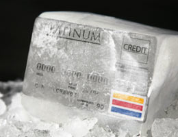 Put your credit cards in the deep freeze