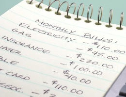 Write a list of spending priorities