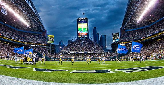 Seattle Seahawks football stadium © Mat Hayward/Shutterstock.com