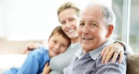 Senior father with daughter and grandson  © Yuri Arcurs - Fotolia.com