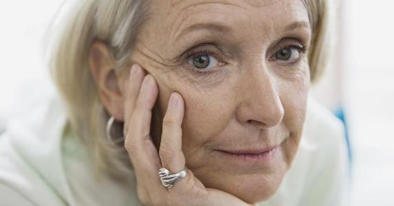 Senior woman looking at the camera | Hero Images/Getty Images