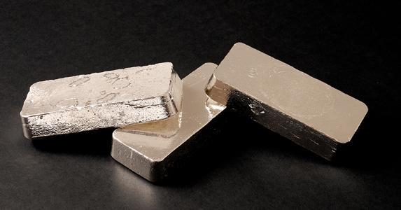 Silver bars © Olaf Speier/Shutterstock.com