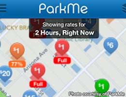 Score a parking spot