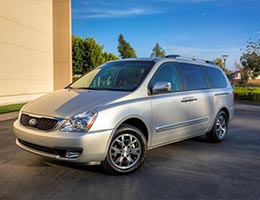 2014 Kia Sedona LX with power package