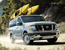 2013 Nissan NV 3500 SL with technology package
