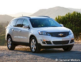 Chevrolet Traverse © General Motors