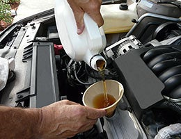Change your oil regularly © Romarti/Shutterstock.com
