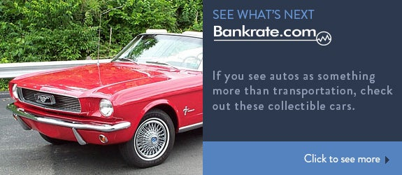If you see autos as something more than transportation, check out these collectible cars.