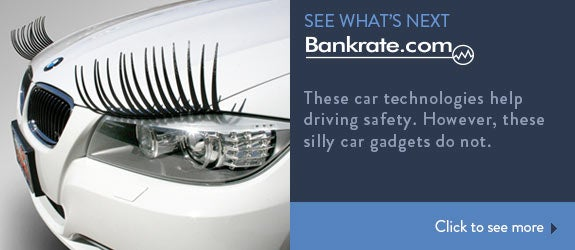These car technologies help driving safety. However, these silly car gadgets do not. © Photo courtesy of CarLashes