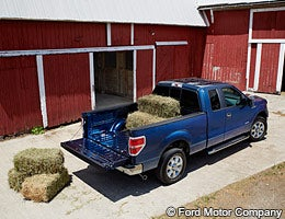 5 fuel-efficient family pickups © Ford Motor Company