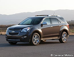 Chevrolet Equinox 1LT © General Motors