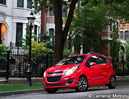 Small cars that turn heads © General Motors
