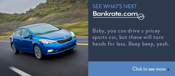 Baby, you can drive a pricey sports car, but these will turn heads for less. Beep beep, yeah.