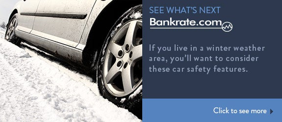 If you live in a winter weather area, you'll want to consider these car safety features. © Nneirda/Shutterstock.com