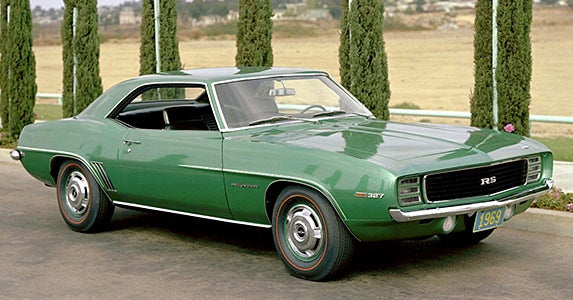 1969 Chevrolet Camaro ZL1 © General Motors