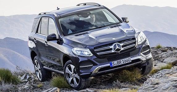 2016 Mercedes-Benz GLE © Mercedes-Benz