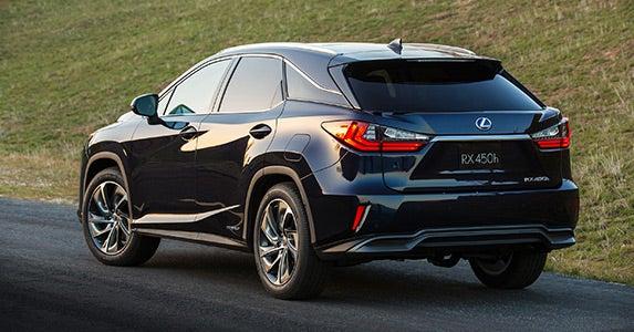 2016 Lexus RX © Lexus