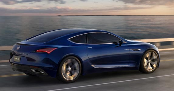 These 5 cars turned heads in Detroit © GM Corp.