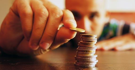 Are you cash poor? © Mirco Vacca/Shutterstock.com