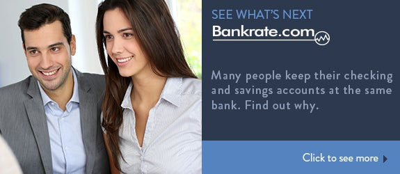 Many people keep their checking and savings accounts at the same bank. Find out why.