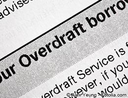 What are the overdraft protection options?