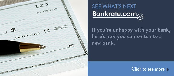 If you're unhappy with your bank, here's how you can switch to a new bank. © JohnKwan/Shutterstock.com