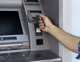 Use prepaid card's in-network ATMs © sanjagrujic/Shutterstock.com