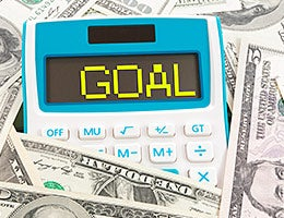 Set a savings goal © Anson0618/Shutterstock.com