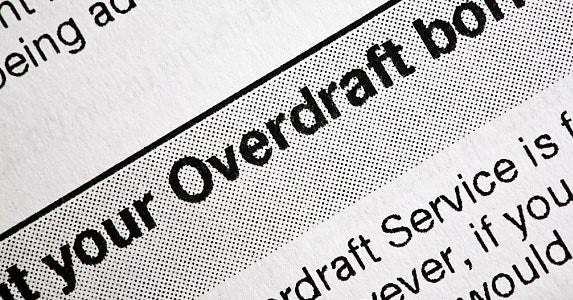 What are the overdraft protection options? © Alex Yeung / Fotolia