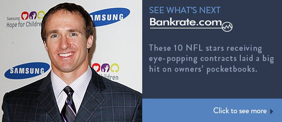 These 10 NFL stars receiving eye-popping contracts laid a big hit on owners' pocketbooks. © Debby Wong/Shutterstock.com
